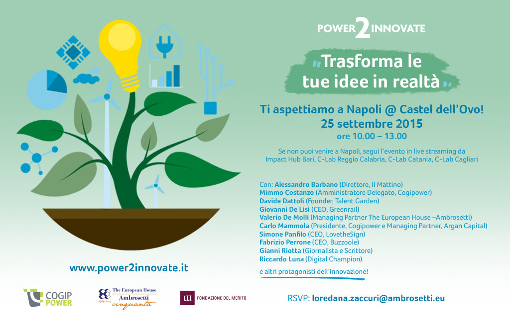 invito Power2Innovate NA